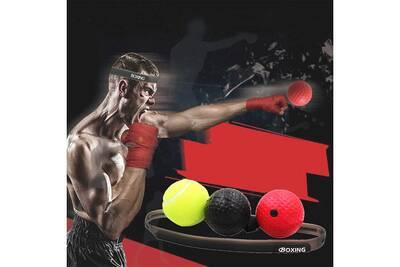 Accessoires Fitness Aucune Entrainement De Balle De Boxe Reflexe Niveau De Vitesse Entrainement De Coordination De Jeu De Balle De Boxe Multicolore Darty