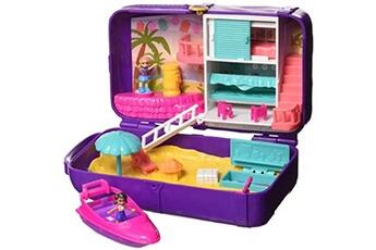 Figurines personnages Mattel Coffret polly pocket aventure à la plage