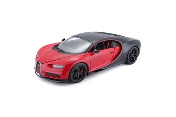 Véhicules miniatures Maisto Icaverne vehicule a construire - engin terrestre a construire voiture bugatti chiron sport 1/24eme - noir