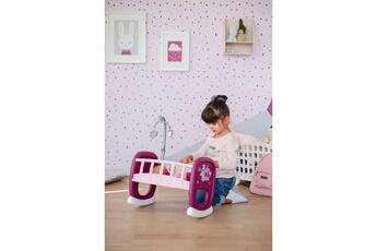 Accessoires de poupées Marque Generique Vetement - accessoire poupon baby nurse berceau a barreaux + 1 mobile