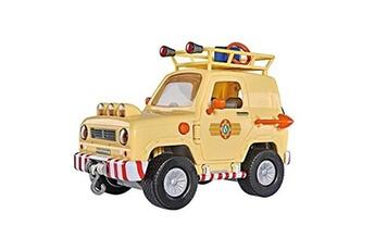 Véhicules miniatures Marque Generique Vehicule miniature assemble - engin terrestre miniature assemble sam le pompier 4x4