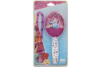 Accessoires de déguisement Icaverne Icaverne bijoux deguisement disney princesses brosse et collier pour enfant