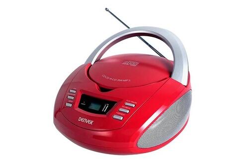 Radio-cd mp3 denver electronics tcu-211 fm 2w