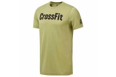 T shirt à manches courtes homme reebok rc fef tee speedwick jaune