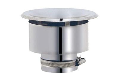 Tuyau de gaz Joncoux Chapeau déflecteur apollo pellets - diamètre : 80 mm