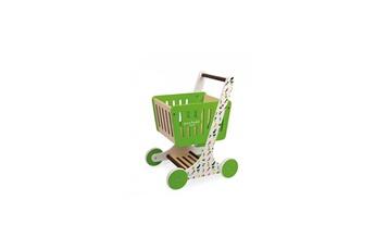 Jouets premier âge Juratoys-janod Chariot de courses en bois green market