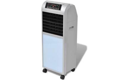 Climatiseur mobile GENERIQUE Chauffage et climatisation ensemble malabo refroidisseur d'air 120 w 8 l 385 m³/h 37,5 x 35 x 94,5 cm