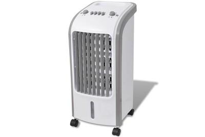 Climatiseur mobile GENERIQUE Chauffage et climatisation categorie conakry refroidisseur d'air 80 w 5 l 270 m³/h 25 x 26 x 56 cm