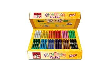 Peinture et dessin Playcolor Stylos de peinture gouache solide 5g - basic pocket class box - 144 couleurs assorties