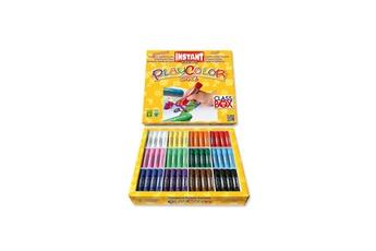 Peinture et dessin Playcolor Sticks de peinture gouache solide 10g - 144 pcs - couleurs assorties - basic one class box