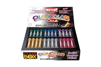 Peinture et dessin Playcolor Sticks de peinture gouache solide 10g - metallic one class box - 72 couleurs assorties