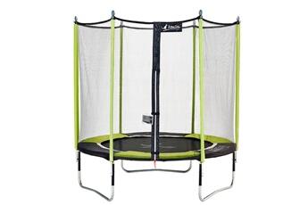 Trampoline Kangui Kangui - trampoline de jardin 244 cm + filet de sécurité jumpi pop 250