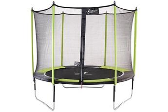 Trampoline Kangui Trampoline de jardin 305 cm + filet de sécurité jumpi pop 300