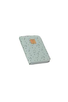Sac à langer Lassig Lassig - causal pochette carnet de santé floral menthe
