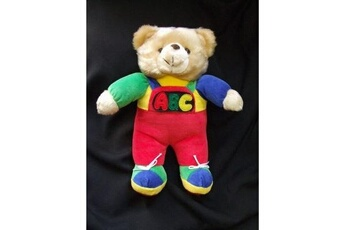 Peluches No-name Moderne ours en peluche abc