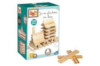 Jouets éducatifs No-name Distingué jeu de construction de 200 planchettes en bois