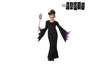 Déguisements Euroweb Costume pour fillette reine des t?n?bres - d?guisement enfant fille taille - 10-12 ans
