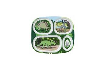 Vaisselle bébé PETIT JOUR Plateau a compartiments dinosaures