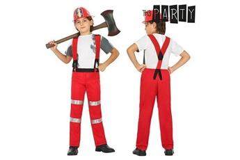Déguisements Euroweb Costume pour enfants sapeur pompier (2 pcs) - un deguisement taille - 7-9 ans