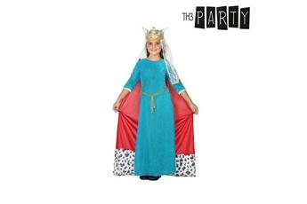 Déguisements Euroweb Costume de reine du moyen-age pour enfants - d?guisement panoplie taille - 3-4 ans