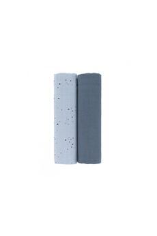 Sac à langer Lassig Lassig - lange mousseline xl more magic phoque boîte de 2 pcs, 120 x 120 cm