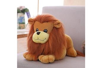 Jouets éducatifs Generic Lifelike lion friend - jouet en peluche pour enfants en peluche marron clair pour enfants bt648