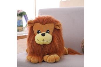 Jouets éducatifs Generic Jouet en peluche en peluche pour enfants en peluche marron clair lions friend réaliste 9 pouces @suoupasora7505