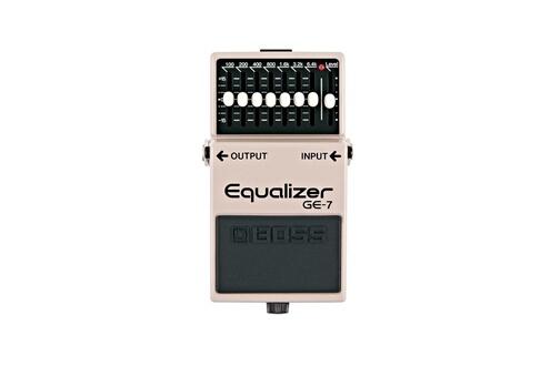 Boss - ge-7 - egaliseur pédale d'effets pour guitare