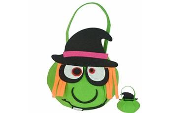 Jouets éducatifs Generic Sac de bonbons de citrouille d'halloween truc de sorcière pour enfant sac à main pour enfants sac de rangement pour enfants bt1390