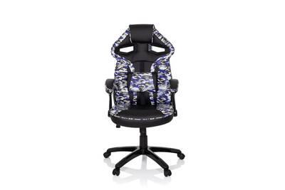 Alinéa Mia Chaise de bureau dactylo noire à roulettes