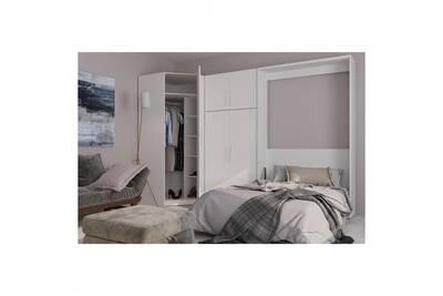 Lit de 2 places Inside 75 Composition armoire lit ...
