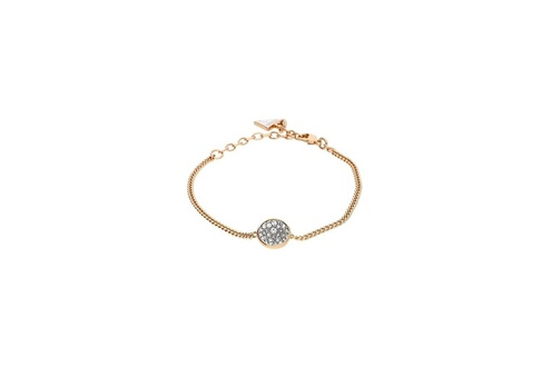 Bracelet femme guess acier doré