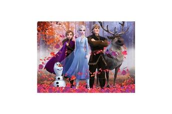 Puzzles RAVENSBURGER Puzzle 100 p xxl - la magie de la for?t / disney la reine des neiges 2