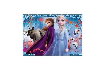 Puzzles RAVENSBURGER Puzzles 2x12 p - voyage vers l'inconnu / disney la reine des neiges 2