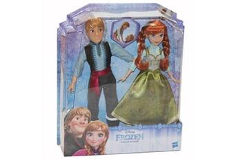 Poupées FROZEN Set de 2 poupées frozen anna et kristoff de la reine des neiges