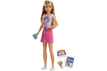 Poupées Barbie Poupée barbie babysitter blonde