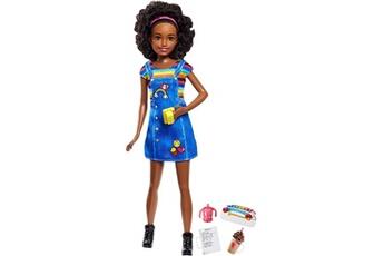 Poupées Barbie Poupée barbie skipper babysitter café mattel