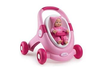 Accessoires de poupées SMOBY Minikiss baby walker 3 en 1 smoby