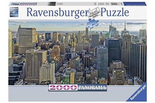 Puzzle 2000 pièces ravensburger vue sur new york