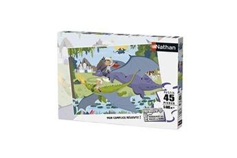 Puzzles Nathan Puzzle 45 pièces les dragons nathan