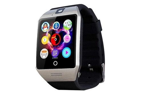Montre connectée android ios smartwatch anti perte podomètre sms appels