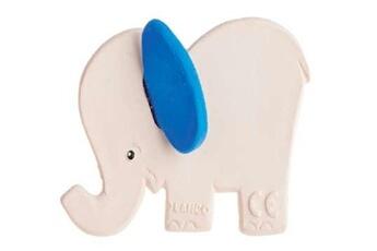 Eveil & doudou bio Lanco Eléphant bleu de dentition lanco