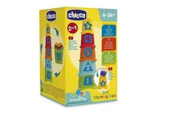 Eveil & doudou bio Chicco Cubes à empiler 2 en 1 chicco