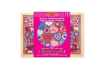Eveil & doudou bio MELISSA & DOUG Kit créatif melissa & doug ensemble de perles en bois petits amis