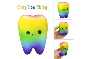 Jouets éducatifs AUCUNE Rainbow cute cartoon tooth slow rising cream jouet anti-stress parfumé yhm80713551e