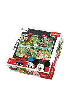 Puzzles Imagin 4 puzzles mickey - + 4 ans - 35/48/54/70 pièces