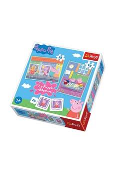 Puzzles Imagin 2 puzzles peppa pig et un mémo - + 3 ans - 30/48 pièces