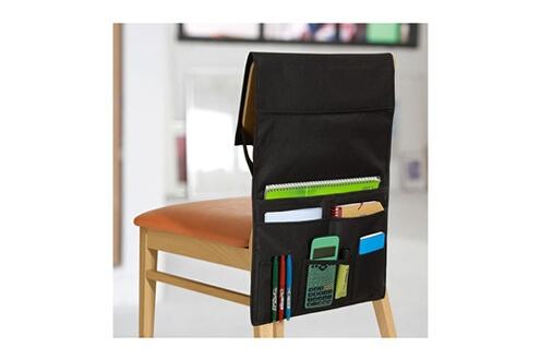Calicosy Rangement 6 poches pour dossier de chaise