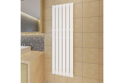 Radiateur électrique GENERIQUE Chauffage et climatisation ligne conakry porte-serviette 465mm + radiateur panneau blanc 465mm x 1500mm