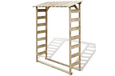 Outil pour couper et débiter le bois GENERIQUE Accessoires pour cheminées et poêles à bois famille managua abri de stockage du bois de chauffage 150x44x176 cm pin imprégné